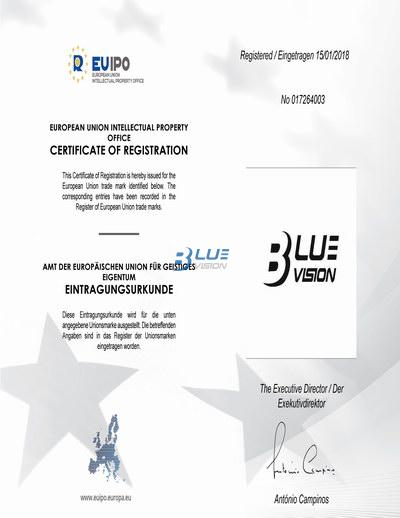 BLUEVISION - 欧盟商标