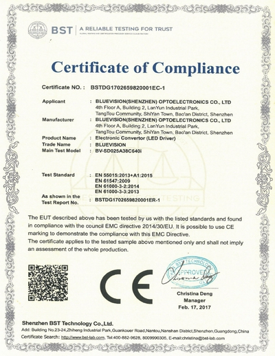 CE certified Chinese LED driver