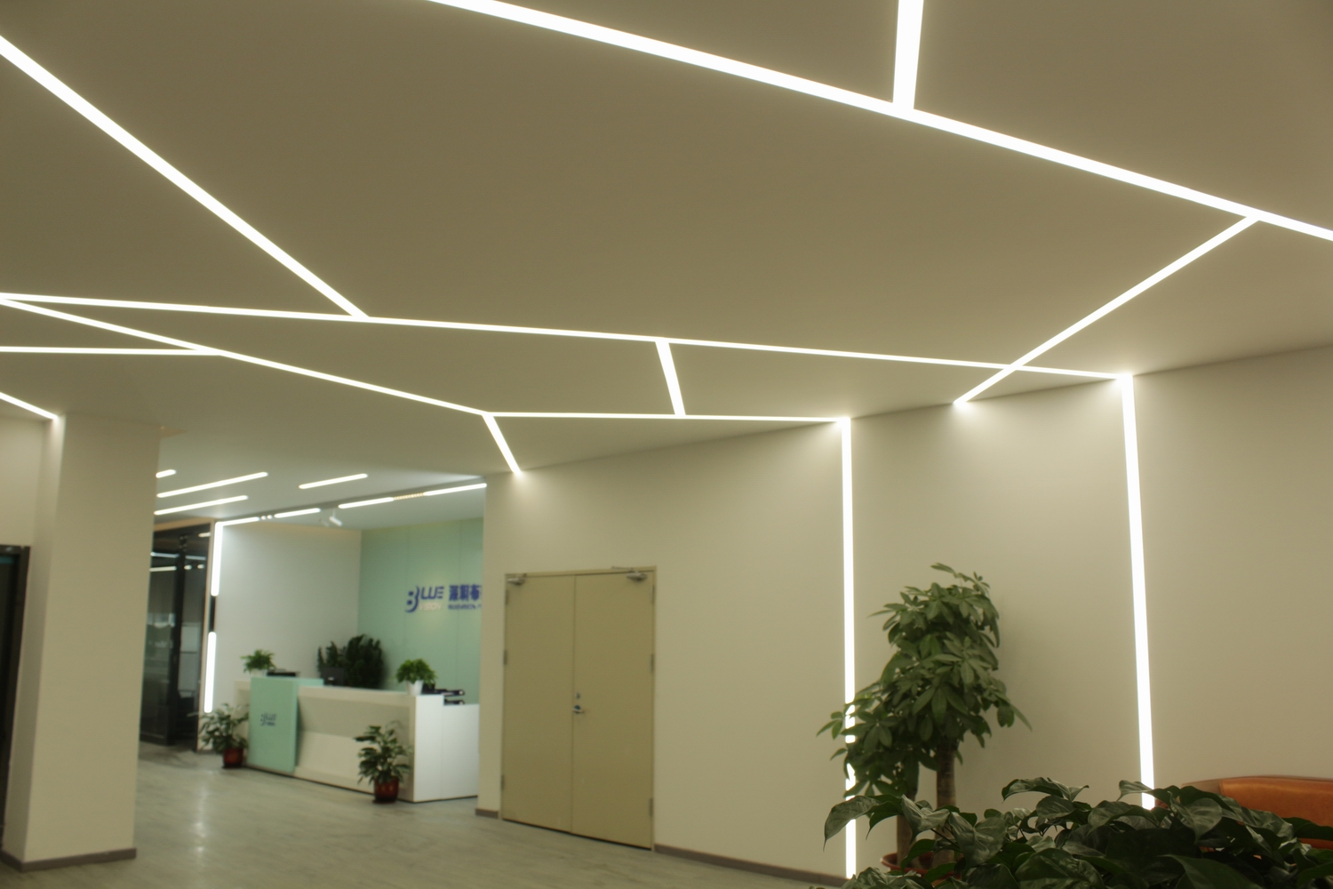 BLUEVISION LED - FACTORY